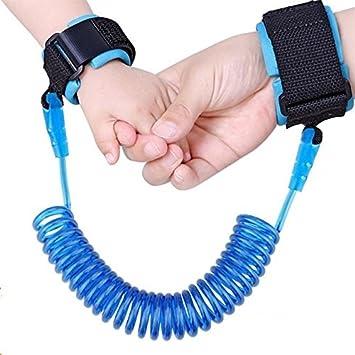 Pulsera Anti Pérdida Para Bebés Y Niños - Seguridad Infantil - Brazalete De Color Azul
