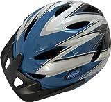 Rhoads Town Bicycle Helmet, Blue/Black/White, Adult