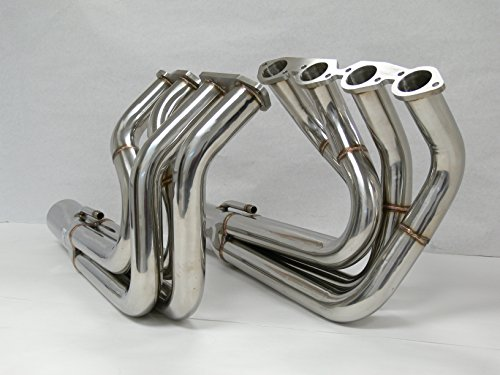 OBX Mid Tube Exhaust Header 67-72 Chevy Big Block 396 427 Impala Chevelle Biscayne Caprice Camaro (Big Tube Headers)