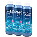 Baqua Spa Sanitizer with Stain & Scale Control (1 pt) (3 Pack)