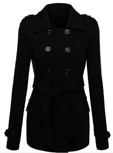 Scothen Las mujeres de invierno otoño abrigo chaqueta acolchada chaqueta con capucha Transit chaquet...