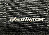 Overwatch Canvas Tri-Fold Mens Wallet PVC Logo