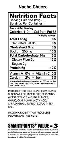 Bada Bean Bada Boom - Plant-Based Protein, Gluten Free, Vegan, Crunchy Roasted Broad (Fava) Bean Snacks, 100 Calories per Serving, Game Day Box, 1 oz, 24 Pack