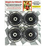 Plasma Car Polyurethane Replacement Wheels - Black