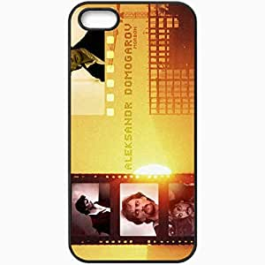 Personalized iPhone 5 5S Cell phone Case/Cover Skin Alexander Domogarov Role Overlap Black