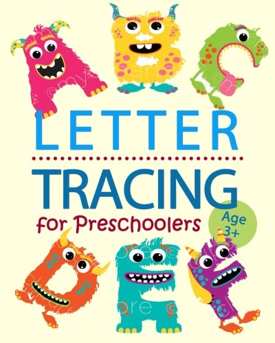 Letter Tracing for Preschoolers: Letter Tracing Practice Book for Kids (Boys and Girls) ages 3-5, Uppercase and Lowercase Alphabet Writing Practice (Volume 3) (Lowercase Tracing Letters)