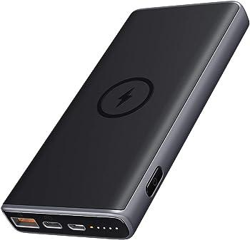 Aukey 10000mAh 18W USB-C PD Wireless Power Bank