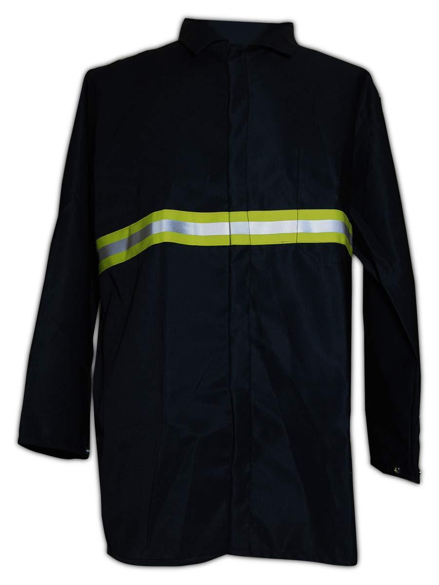 Magid Glove & Safety JVX8535NV-L Flame Jacket, Large, Black