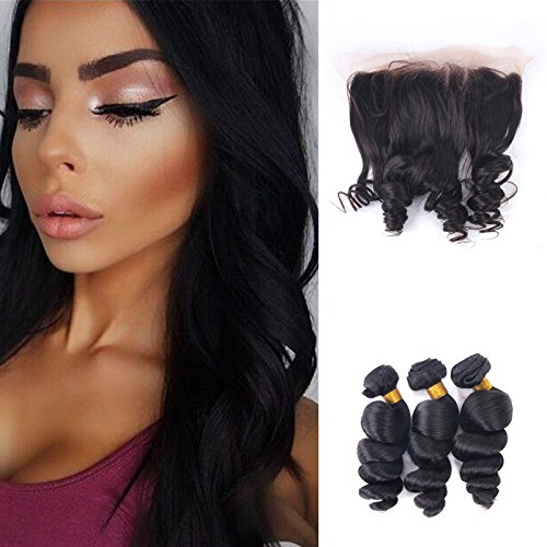 3Bundles-Brazilian-Virgin-Hair-Loose-Wave-with-Closure-13X4-Lace-Frontal-Ear-to-Ear-with-Baby-Hair