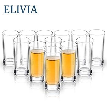 ELIVIA Heavy Base Shot Glasses