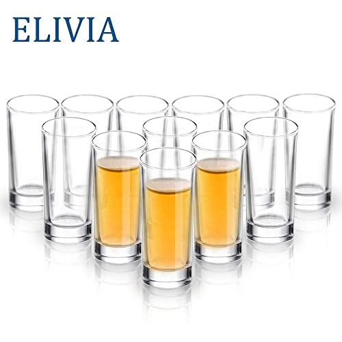 Elicia Tall Glass Shot Glasses (Set Of 12)