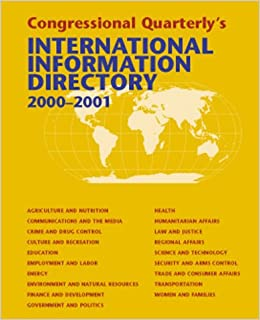 international information directory 20002001