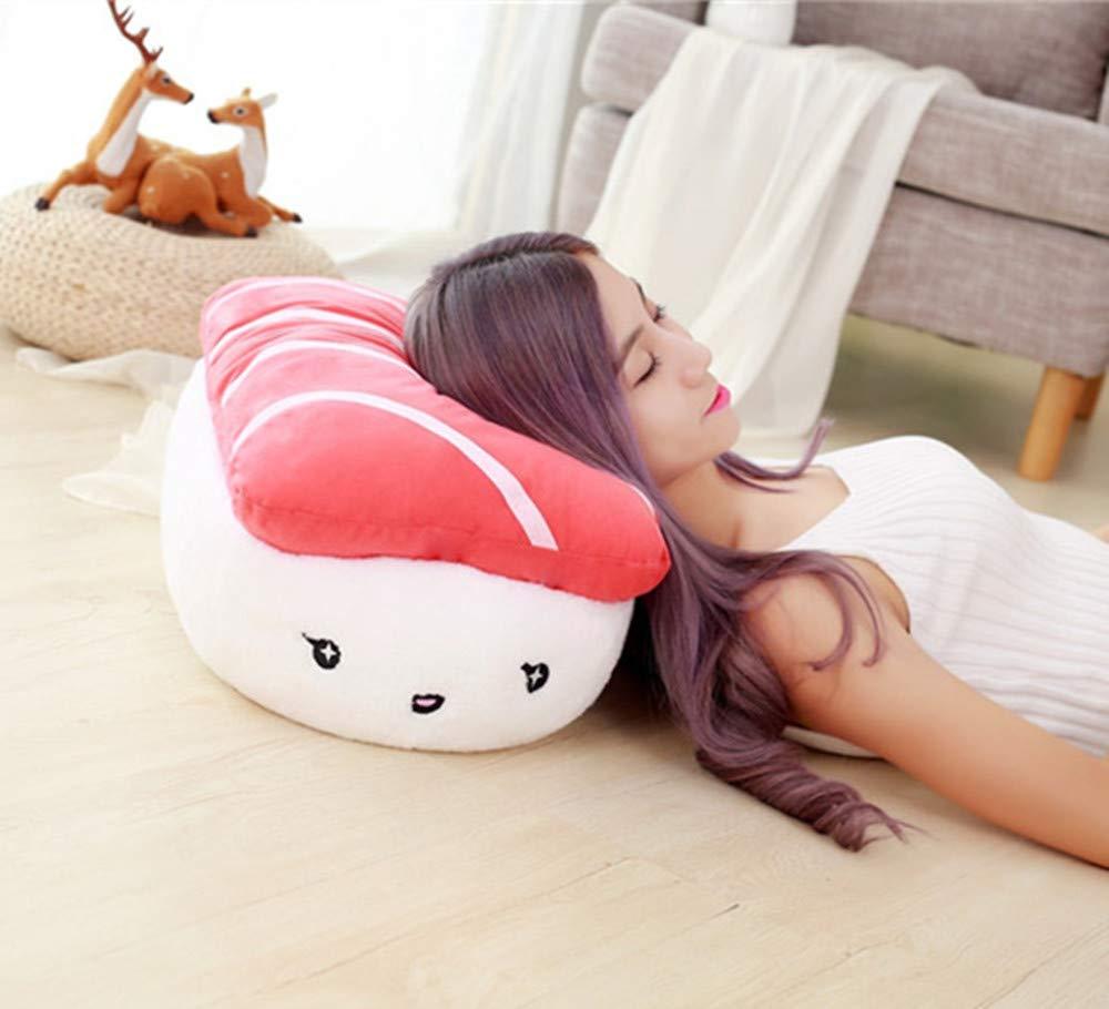 Pink Carina giapponese Sushi Cuscino Cuscini del sonno Cuscino di supporto del braccio Decorazione Cuscino Peluche Bambola Regalo per bambini