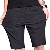 LTIFONE Mens Shorts Gym Training Bodybuilding Exercise Shorts Lightweight Quick Dry Spandex Mens Active Workout Shorts Athletic Summer Shorts