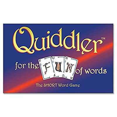 Quiddler Word Game: Toys & Games