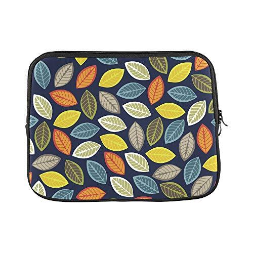Design Custom Leaf Sleeve Soft Laptop Case Bag Pouch Skin for Air 11