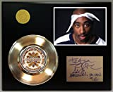 #6: 2Pac Gold Record Signature Series LTD Edition Display