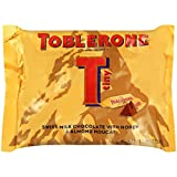 toblerone chocolates - Toblerone Tiny Swiss Milk Chocolate With Honey and Almond Nougat