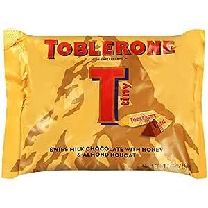 Toblerone Tiny Swiss Milk Chocolate Bars, 7.06 oz