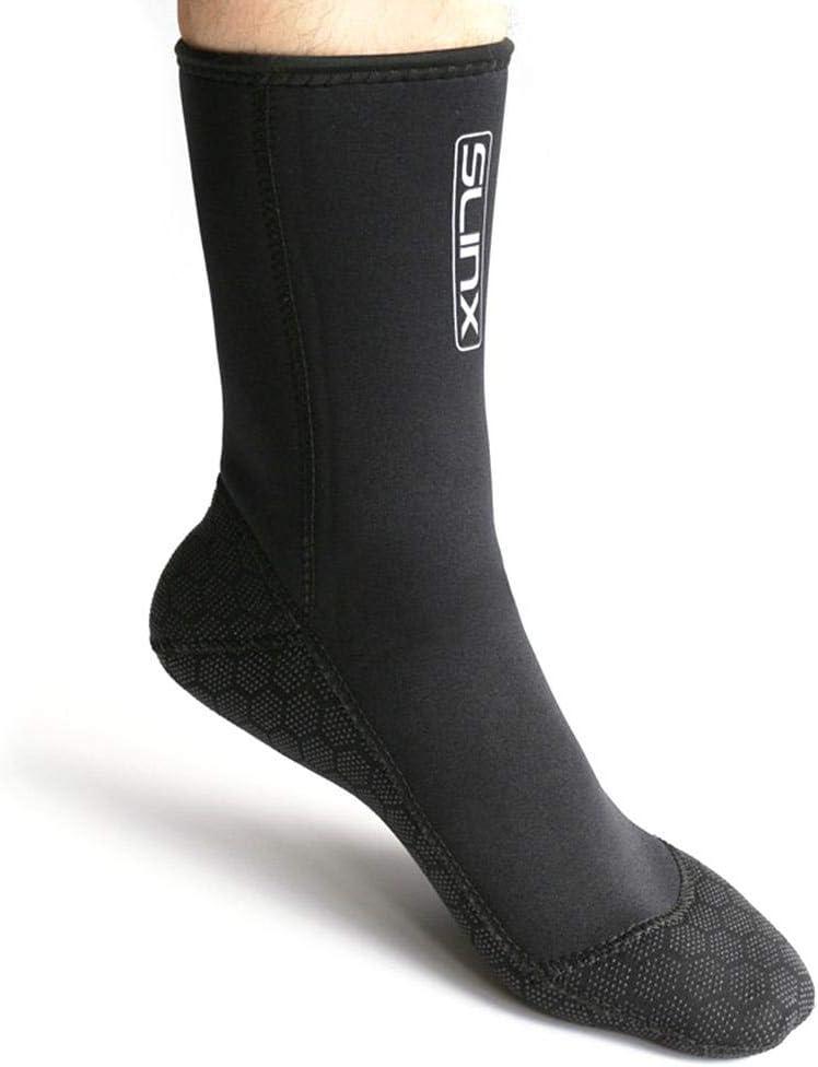 Chaussures de leau 3mm Chaussettes de Plage Chaussons Hommes Femmes Fille Bottes en n/éopr/ène Bottes de plong/ée Anti-d/érapant//Snorkeling Chaussettes Plongeur//Chaussures de plong/ée