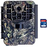 Covert Scouting Cameras Black Maverick Video & Audio Game Camera + 16GB SD Card