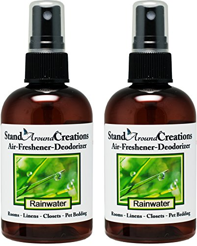 Set of 2-4-oz.-Concentrated Spray Air-Freshener/Deodorizer - Rain Water - Great for: Cars, Offices, Closets, Air-Conditioners, Pet Beds, Yoga