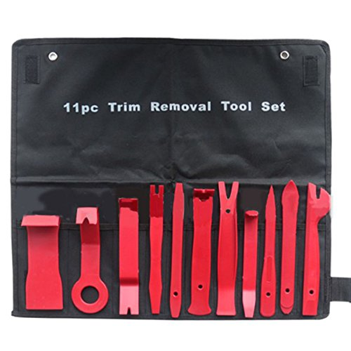 Specialty Pry Bar Set (Anweer Premium Auto Trim Removal Tool Kit - 11 Piece Pry Bar Set)