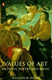 Values of Art, Malcolm Budd, 014012148X