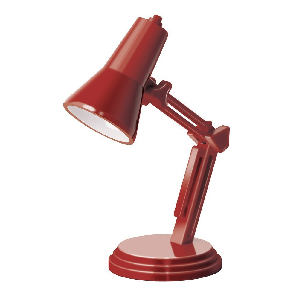 That Company Called If 94403 The Book Lamp - Retro Red