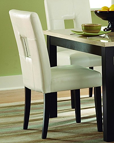 Homelegance Archstone Side Chair – Set of 2 (White) Review