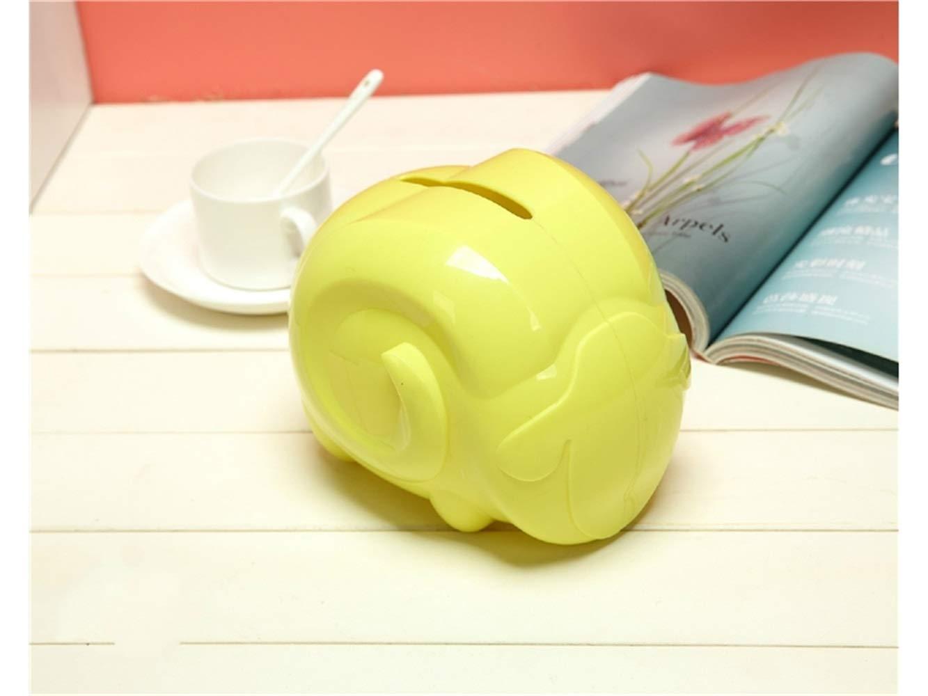 Pullic Tissue Box Portable Cartoon Sheep Shape Tissue Boxes Tissue Napkin Case for Room and Toilet(Yellow)