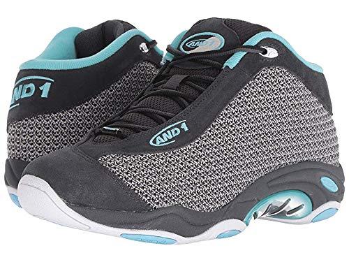 (AND 1 Men's Tai Chi LX Sneaker, Magnet Knit/Petite Four/White, 10.5 Medium US )