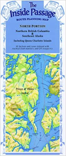 The Inside Passage - Route Planning Map: North Portion, Northern ...
