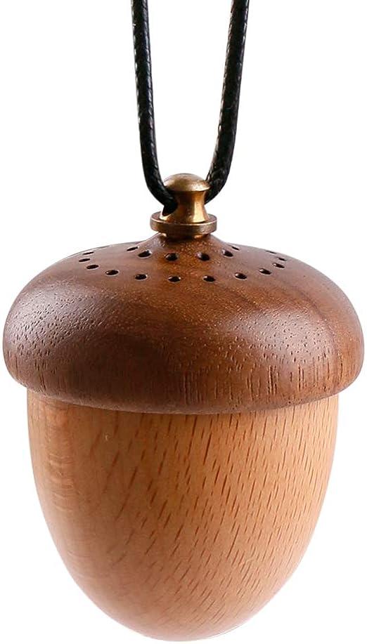 Difusor de aceite esencial de madera para coche, aromaterapia ...