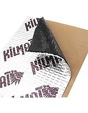 KILMAT 50 mil (1.3 mm) 50 sqft (4.7 sqm) Car Sound Deadening Mat, Butyl Automotive Sound Deadener, Audio Noise Insulation and dampening