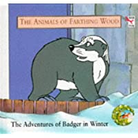 The Adventures of Badger in Winter (Red Fox picture books)