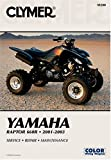 img - for Yamaha Raptor 660R 2001-2003: Service-Repair-Maintenance book / textbook / text book
