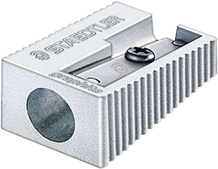 Staedtler sharpener silver
