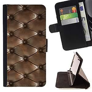 For HTC Desire 820 Case , Diamond textura del cuero del patrón- la tarjeta de Crédito Slots PU Funda de cuero Monedero caso cubierta de piel