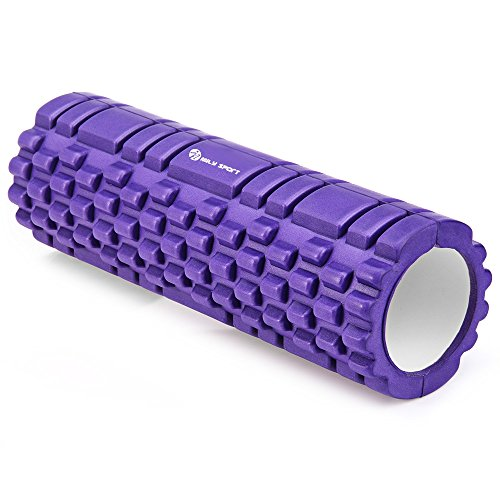 Egodeals point d'EVA Yoga Rouleau de mousse pour fitness Maison Gym la physiothérapie Massage