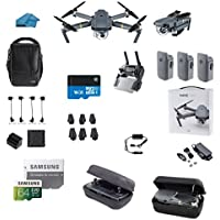 DJI Mavic Pro FLY MORE COMBO Collapsible Quadcopter Starters Bundle with Case
