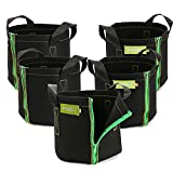 Ipomelo 5-Pack 3 Gallons Transplanting Bag For Plants From Pots To Large Grow Bags