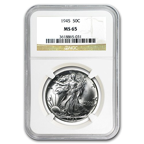 1945 Walking Liberty Half Dollar MS-65 NGC Half Dollar MS-65 NGC