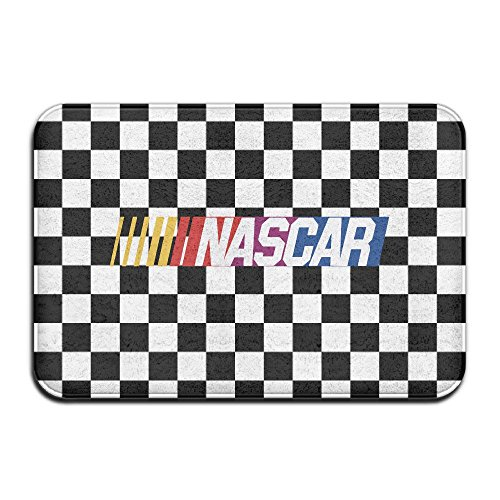 Meowcat Nascar Racing Logo Doormats / Entrance Rug Floor Mats