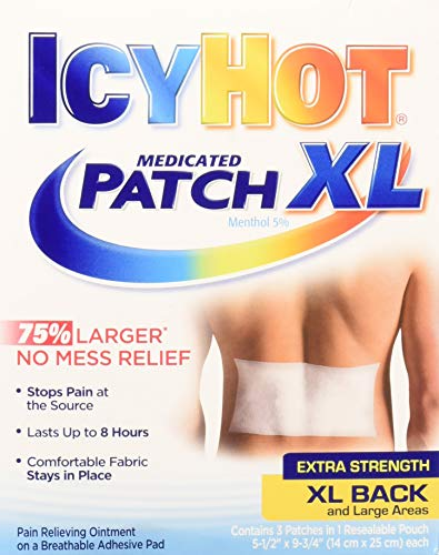 Icy Hot Patch Extra Strength XL Back & Large Areas (6 Pack)