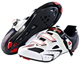 Exustar E-SR941 Road Shoe, White, 48 Euro/13.5 US