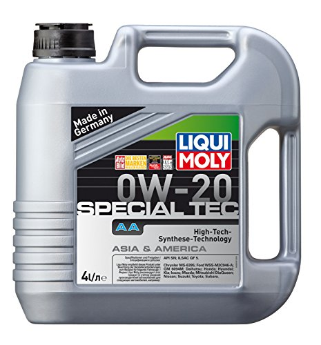 Liqui Moly Special Tec AA 0W20 (4 Liter) 9701 Synthetic Engine