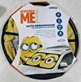 minion car sun shade - Minion Despicable Me Auto Springshade Sun Shade Car Truck SUV