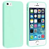 jelly ipod 5 case - iPhone SE Case, Everydaysource Compatible with Apple iPhone 5SE / 5S / 5 TPU Rubber Skin Case , Mint Green Jelly