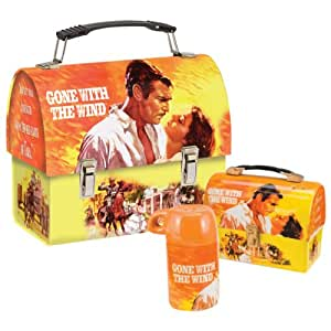 Gone With The Wind Salt & Pepper Shaker Set Dome Lunch Box Set